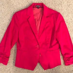 Express Hot Pink Blazer